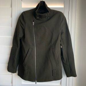 Zara Heavy Moto Coat